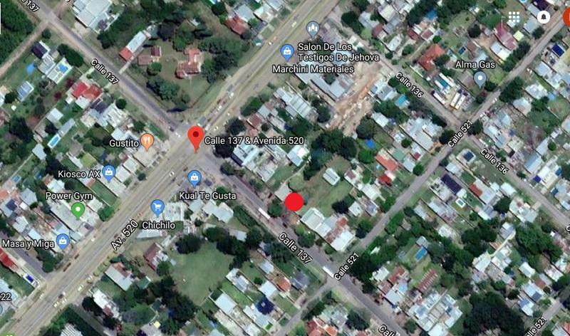 Foto Terreno en Venta en  La Plata ,  G.B.A. Zona Sur  137 entre 520 y 521