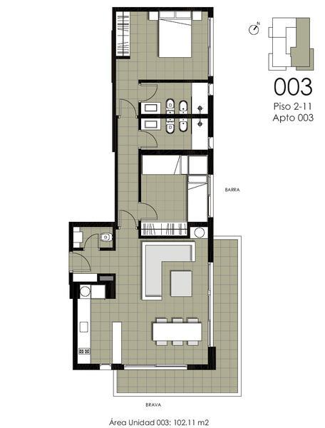 Foto Departamento en Venta en  Playa Brava,  Punta del Este  Hermoso y Amplio Apartamento con Excelente Ubicación a Tan Solo 2 Cuadra de Playa Brava