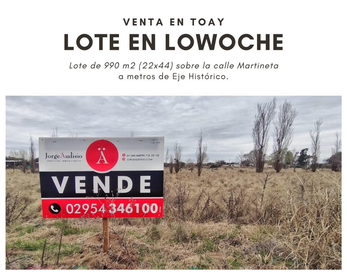 Foto Terreno en Venta en  Santa Rosa,  Capital  Martineta