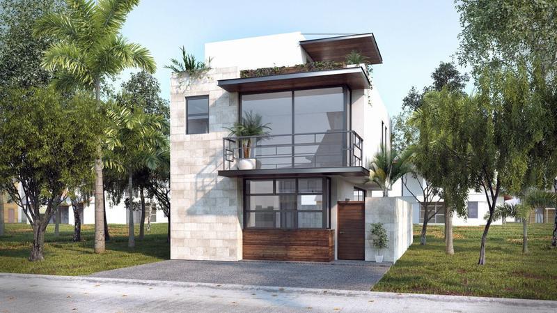 Foto Casa en condominio en Venta en  Supermanzana 320,  Cancún  CASA EN VENTA EN CANCUN RESIDENCIAL AQUA TAANKAB