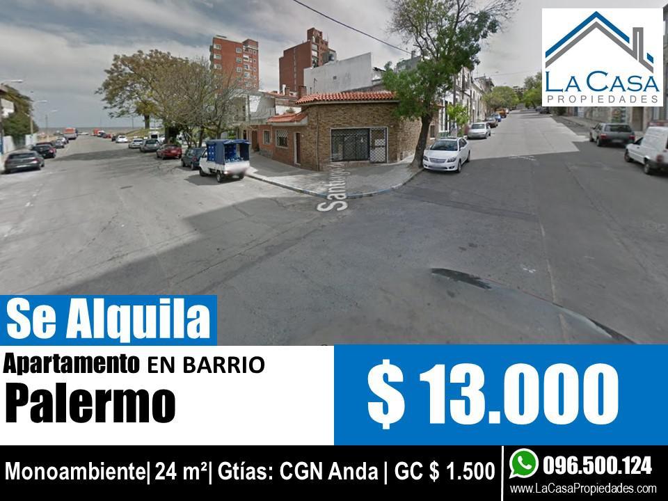 Foto Apartamento en Alquiler en  Palermo ,  Montevideo  Santiago de Chile al 900