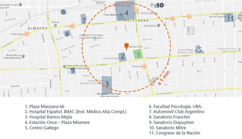 Foto Departamento en Venta en  Balvanera ,  Capital Federal  Moreno 2900 - Unidad 411/13
