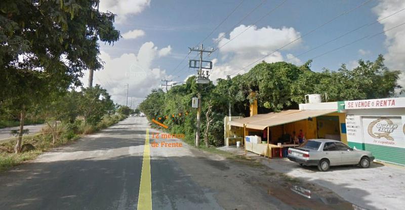 Foto Terreno en Venta en  Supermanzana 225,  Cancún  Lote Comercial en Venta - Cancun