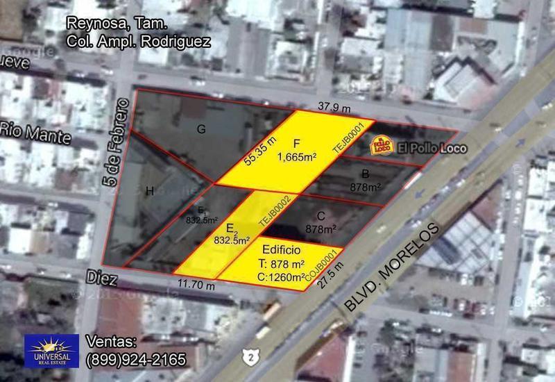 Foto Edificio Comercial en Venta en  Ampliacion Rodríguez (Ampliación),  Reynosa  Ampliacion Rodríguez (Ampliación)