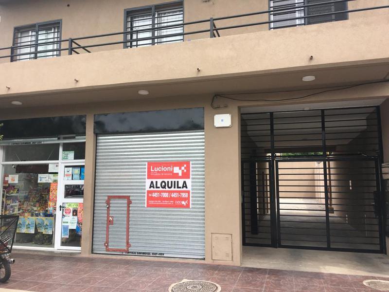 Foto Local en Venta en  San Miguel ,  G.B.A. Zona Norte  AVENIDA SENADOR MORON AL 700 - LOCAL COMERCIAL A ESTRENAR
