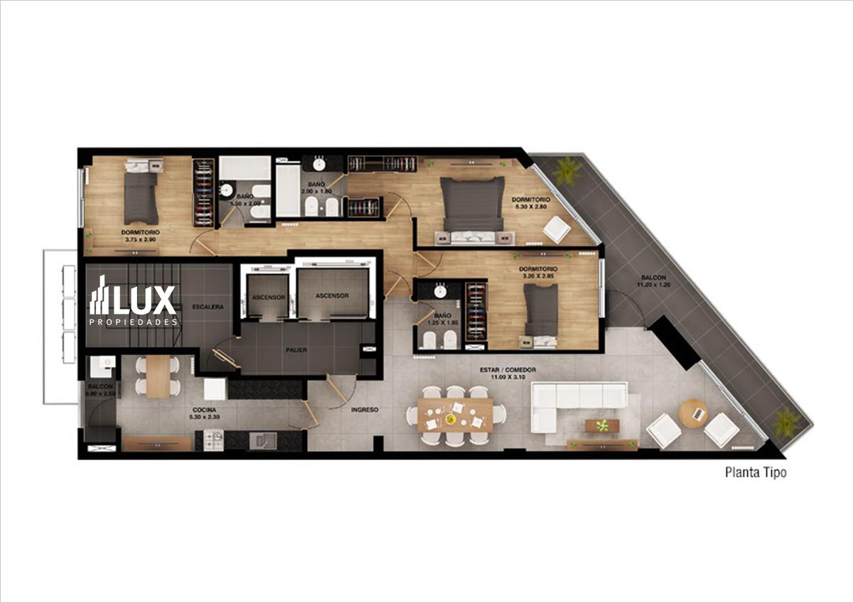 Cochera venta opcional edificio Libertad 328 - Centro