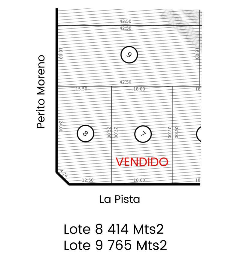 Foto Terreno en Venta en  La Pista,  Ingeniero Maschwitz  La Pista y Perito Moreno