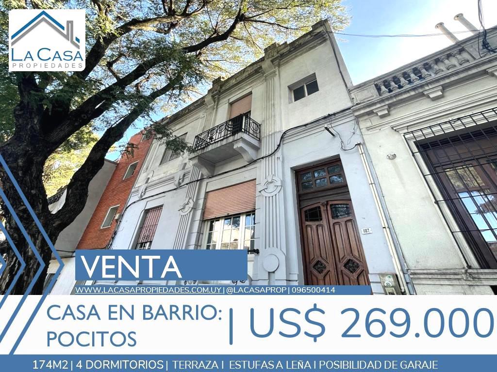 Foto Casa en Venta en  Pocitos ,  Montevideo  Simon Bolivar al 1100