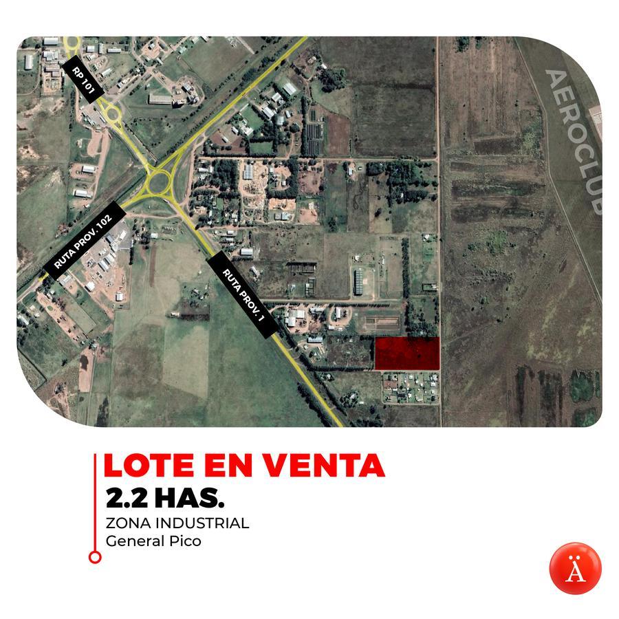 Foto Terreno en Venta en  General Pico,  Maraco  Zona Industrial