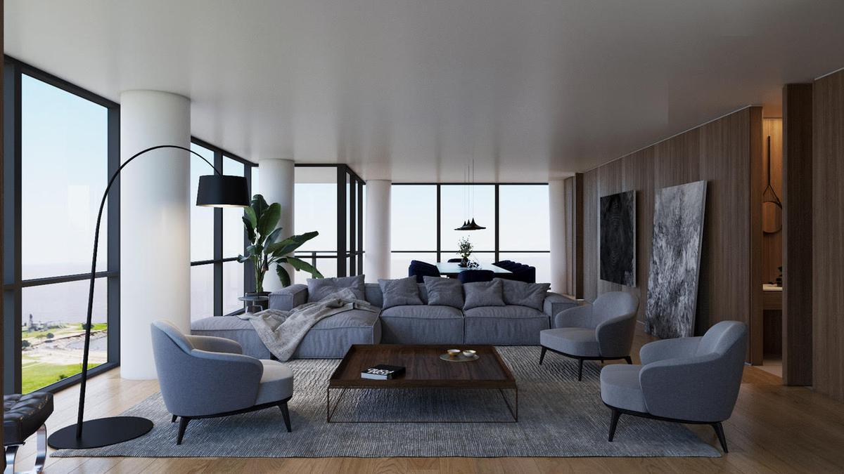 Complejo Al Río - Divino 4 ambientes piso alto - Venta