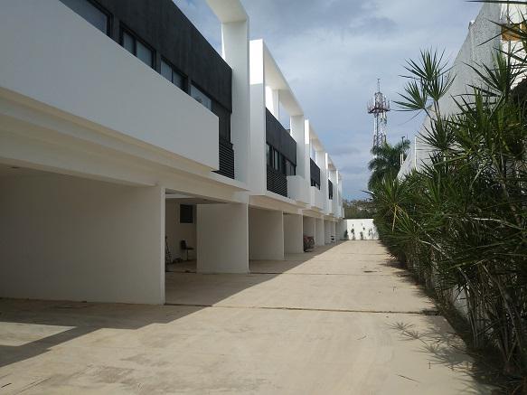 Foto Casa en Renta en  Santa Rita Cholul,  Mérida  Townhouse equipado en renta, Merida - Santa Rita Cholul