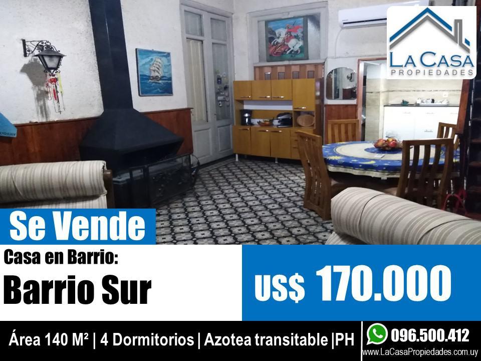 Foto Casa en Venta en  Barrio Sur ,  Montevideo  Carlos Gardel 1100