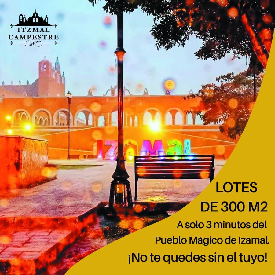 Foto Terreno en Venta en  Ciudad Izamal,  Izamal  Lotes en venta Izamal, primer pueblo mágico de México, de 300 m²