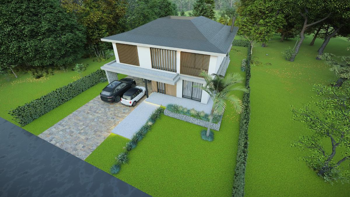 Foto Casa en Venta en  Saint Thomas,  Countries/B.Cerrado (E. Echeverría)  Venta - Casa con proyecto de obra en Saint Thomas Oeste