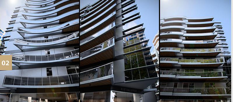 Foto Departamento en Venta en  Caballito ,  Capital Federal  Díaz Vélez al 5500 Departamento en construcción  2 amb. CON BALCON. 1 PISO Edifico c/ PISCINA SOLARIUM GYM KIDS CLUB SUM