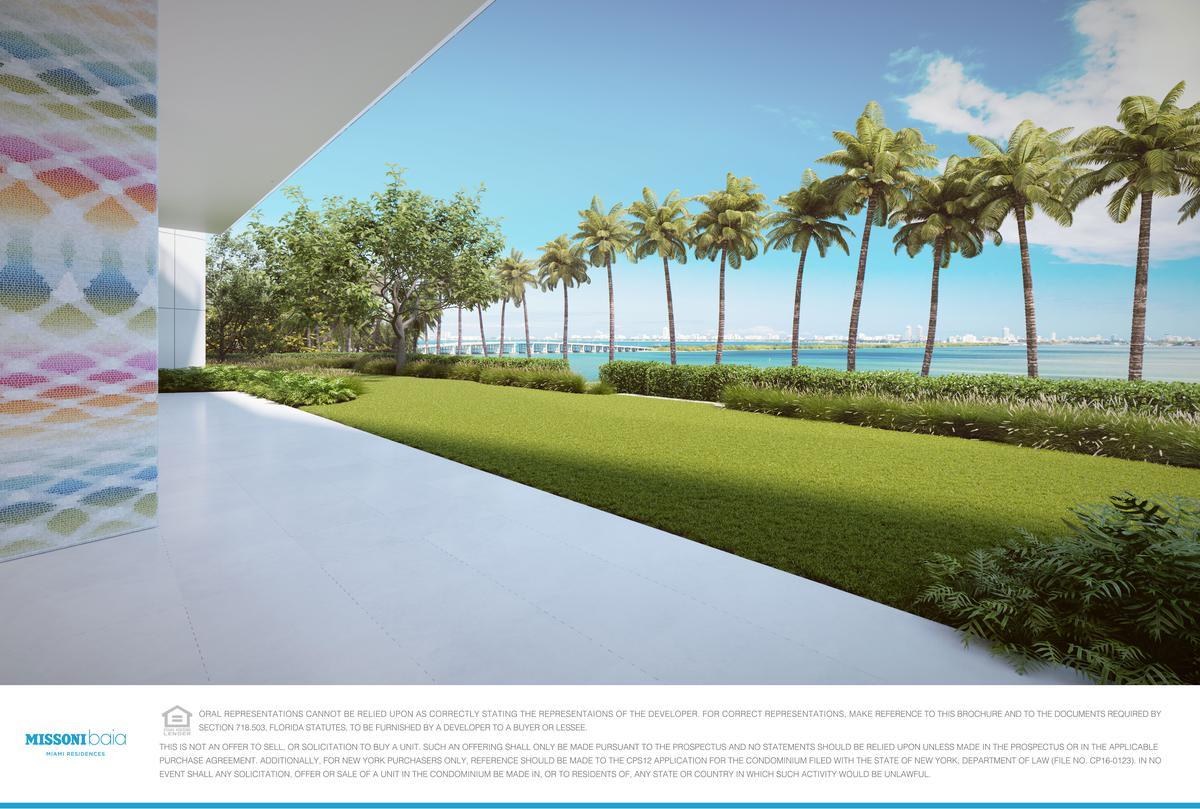 Foto Departamento en Venta en  Edgewater,  Miami-dade  MISSONI BAIA  717 N.E. 27 ST