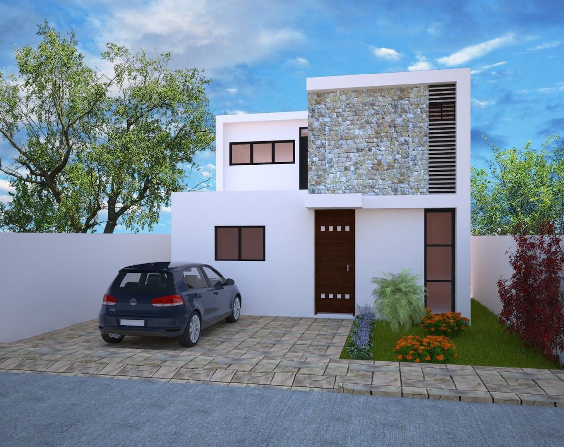 Foto Casa en Venta en  Pueblo Cholul,  Mérida  Casa en  Privada Inara (MOD.145).
