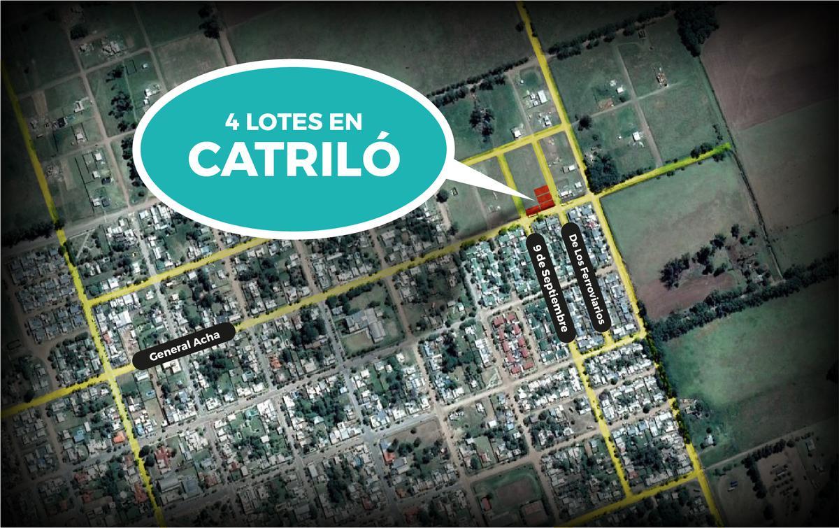 Foto Terreno en Venta en  Catrilo ,  La Pampa  General Acha e/ 9 de Septiembre y De Los Ferroviarios