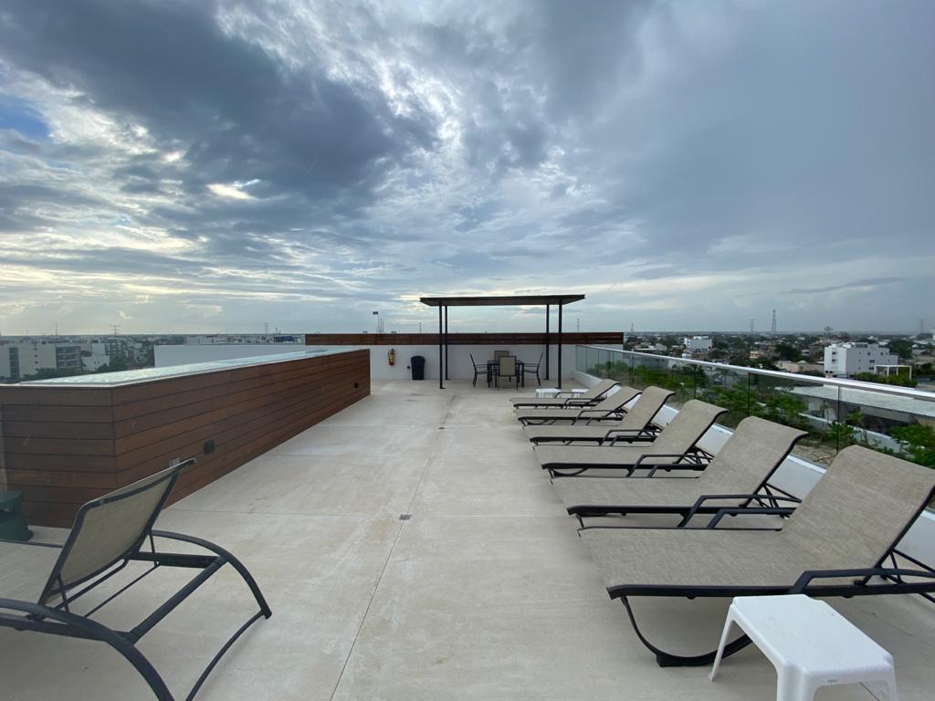 Foto Departamento en Venta en  Playa del Carmen Centro,  Solidaridad  Departamento con vista al mar, alberca y gimnasio