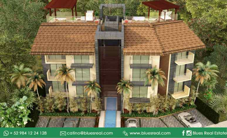 Picture Apartment in Sale in  Solidaridad,  Solidaridad  For sale Bia Terraces at Bia Terrraces in Tulum | Blues Real | Code 327