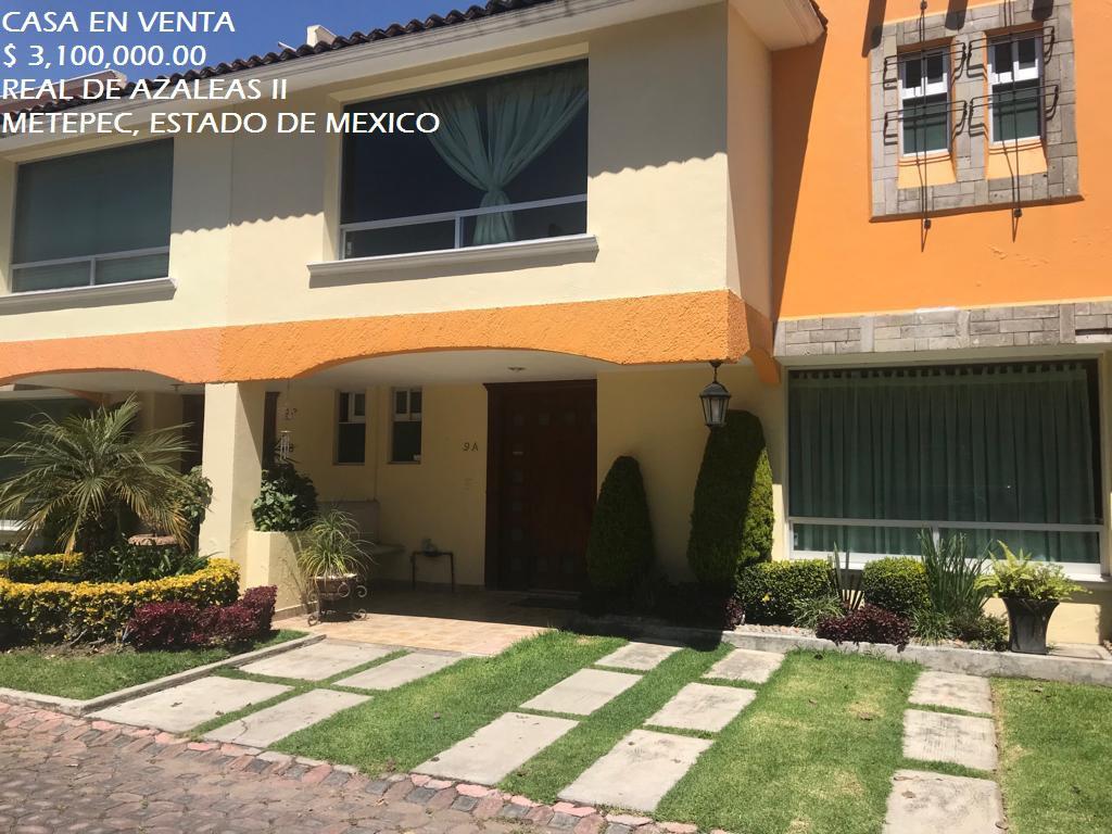 Foto Casa en condominio en Venta en  Metepec ,  Edo. de México  Casa en VENTA, Fraccionamiento Real de Azaleas II, Metepec, Estado de México