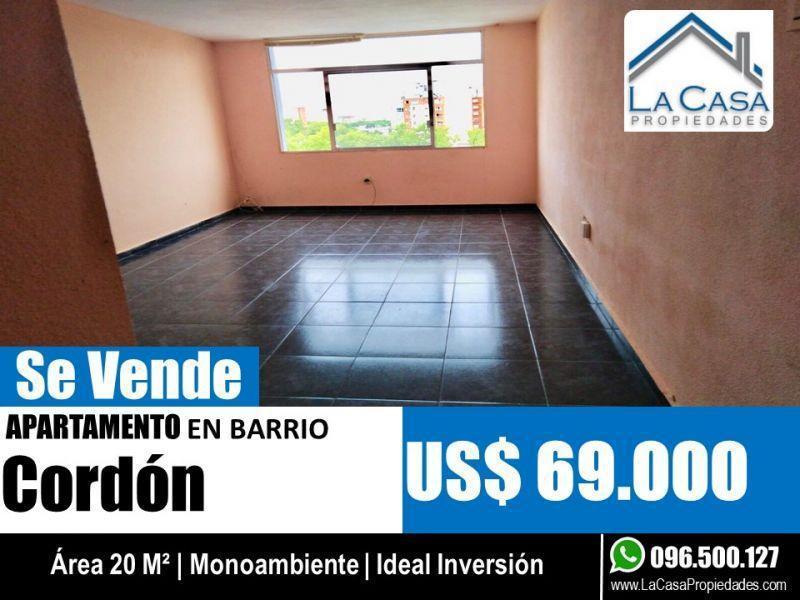 Foto Apartamento en Venta en  Cordón ,  Montevideo  BRANDZEN 1900