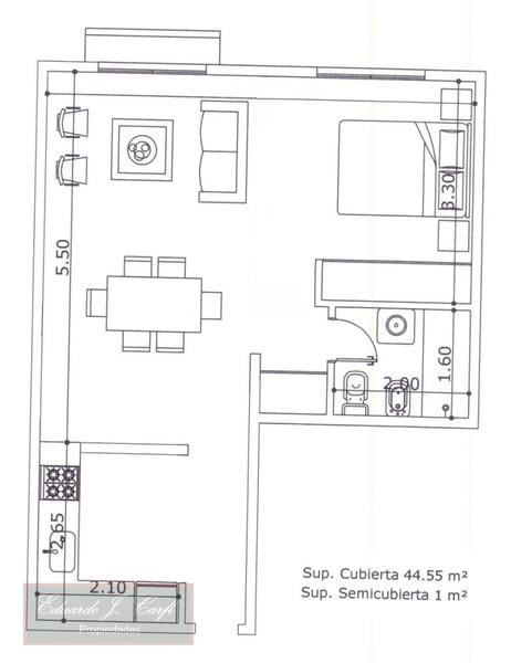 Foto Departamento en Alquiler en  Castelar Norte,  Castelar  Francia 2500 esq San Pedro