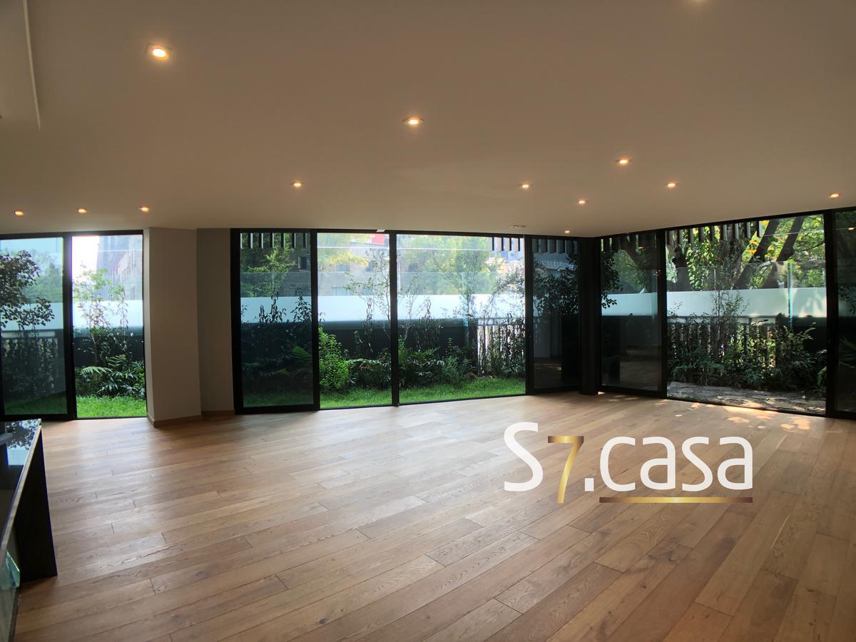 Foto Departamento en Venta en  Polanco,  Miguel Hidalgo  Departamento Garden House 101 en venta, Musset  Polanco, Amplias Terrazas, para estrenar.