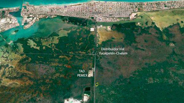 Foto Terreno en Venta en  Progreso de Castro Centro,  Progreso  Terrenos De 10,000 M2 En Carretera Mérida-Progreso