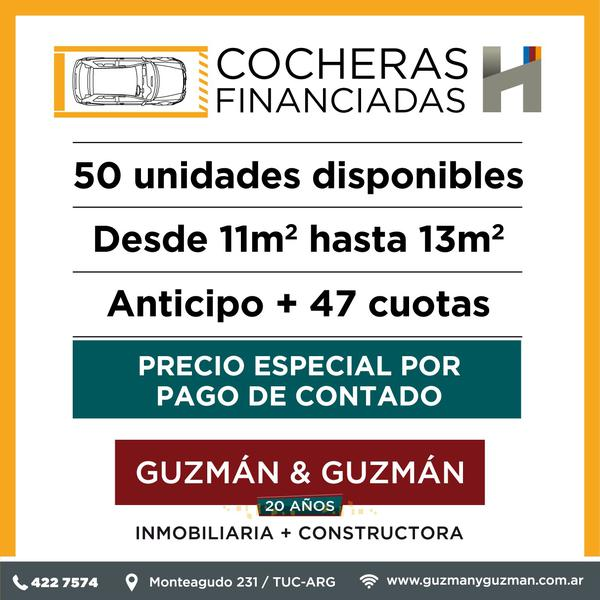 Foto Cochera en Venta | Alquiler en  San Miguel De Tucumán,  Capital  Cochera Subterránea en Complejo Cerrado-  Alt. Av. América y Venezuela