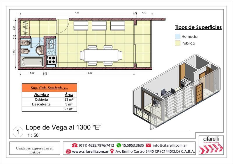 Foto Departamento en Venta en  Villa Luro ,  Capital Federal  Lope de Vega al 1300 3° C