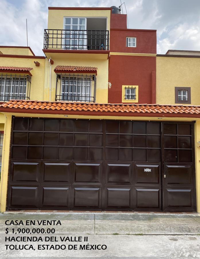 Foto Casa en condominio en Venta en  Toluca ,  Edo. de México  Casa en VENTA, Hacienda Carretas, Hacienda del Valle II, Toluca, Estado de México