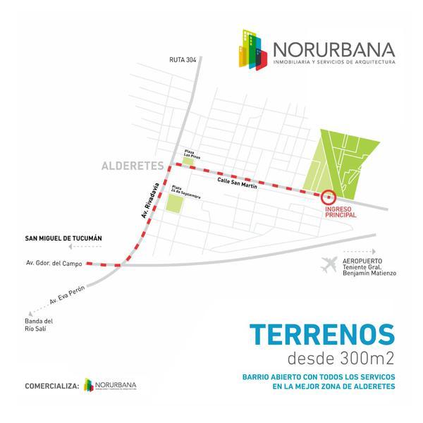 Foto Terreno en Venta en  Capital ,  Tucumán  Alderete, San Martin