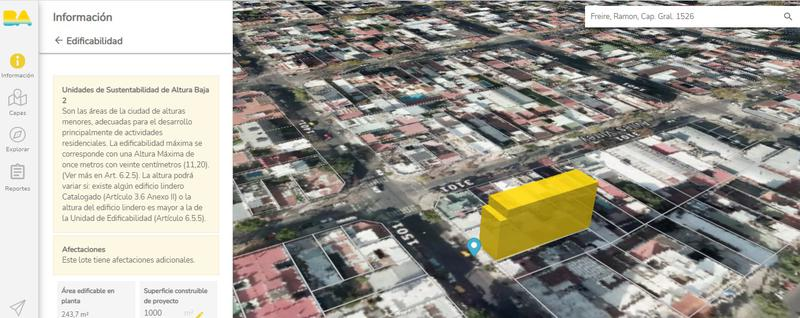 Foto Terreno en Venta en  Belgrano ,  Capital Federal  Freire 1526 | USAB2