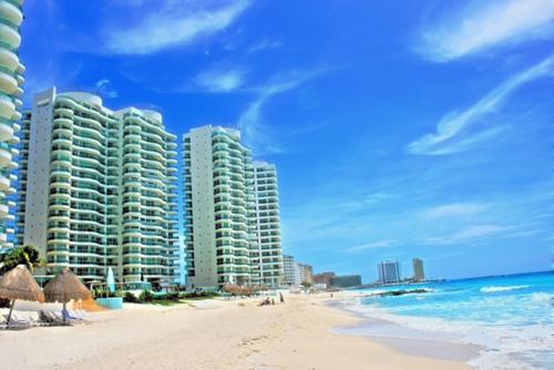 Foto Departamento en Renta en  Zona Hotelera,  Cancún  DEPARTAMENTO DE 3 RECAMARAS EN BAY VIEW GRAND