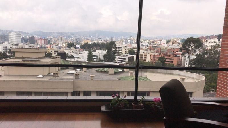 Foto Departamento en Venta en  Centro Norte,  Quito  QUITO TENIS, VENTA LINDO DEPARTAMENTO EXCELENTE VISTA