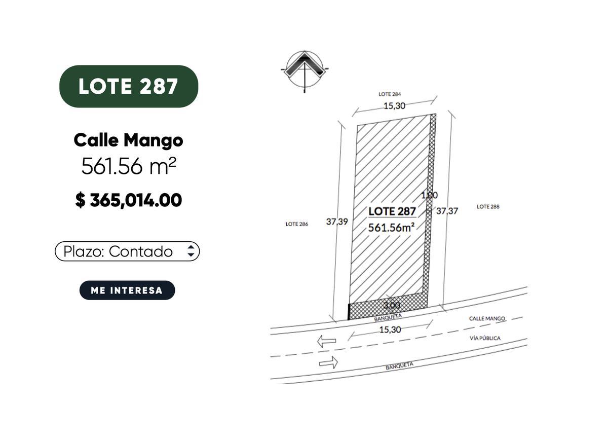 Foto Terreno en Venta en  Ucú ,  Yucatán  Terreno en venta- privada con amenidades 561 m2 de terreno