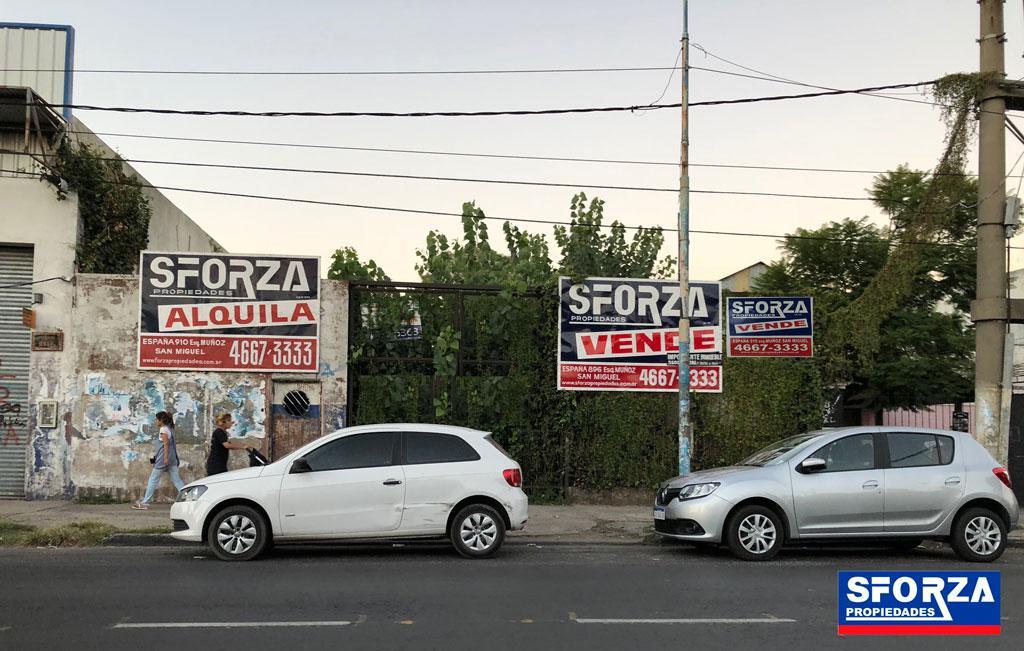 Foto Terreno en Venta en  San Miguel ,  G.B.A. Zona Norte  AV. PERON al 2300
