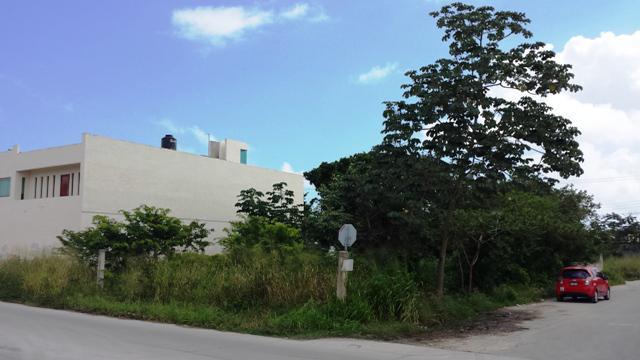 Foto Terreno en Venta en  Solidaridad,  Playa del Carmen  Lotes comercial en avenida en Playa del Carmen