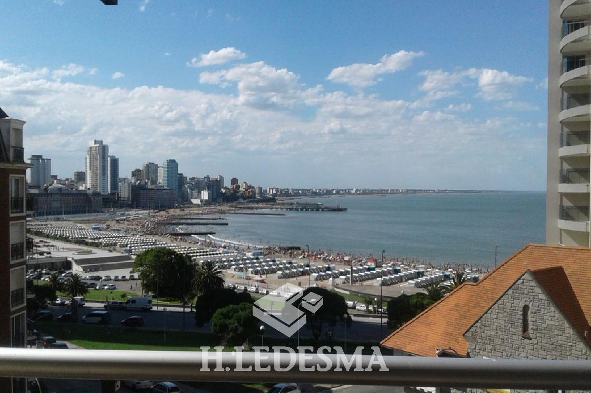 Foto Departamento en Alquiler temporario en  Torreon,  Mar Del Plata  GUEMES ESQ BOLIVAR • FTE AL MAR