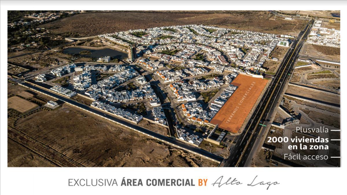 Foto Terreno en Venta en  Horizontes,  San Luis Potosí  Terreno Comercial Paseo de los Horizontes