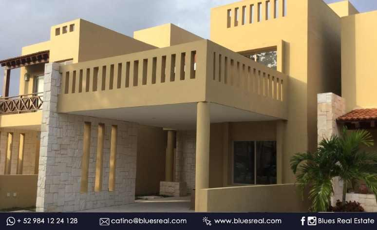 Picture House in Rent in  Playa del Carmen,  Solidaridad  NO AVAILABLE! For rent new house with 3 bedrooms in Allegranza - Code 550