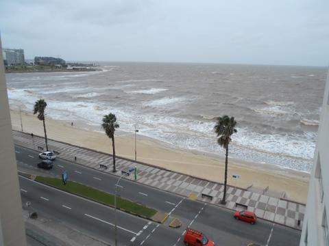 Foto Departamento en Alquiler en  Pocitos ,  Montevideo  Apartamento alquiler  vista al mar