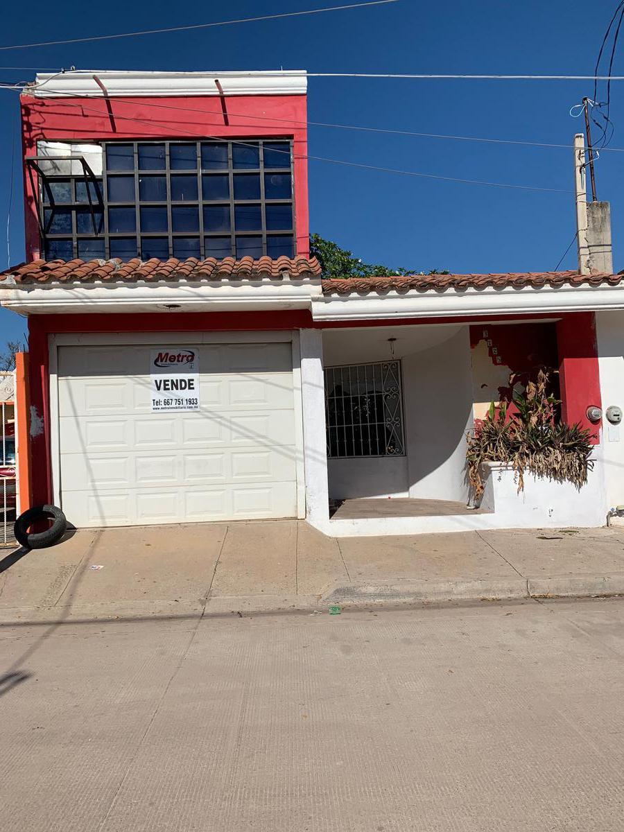 Foto Casa en Venta en  Fraccionamiento Florida,  Culiacán  CASA EN VENTA CULIACAN, SIN., CALLE HELIOTROPOS NO. al 3725