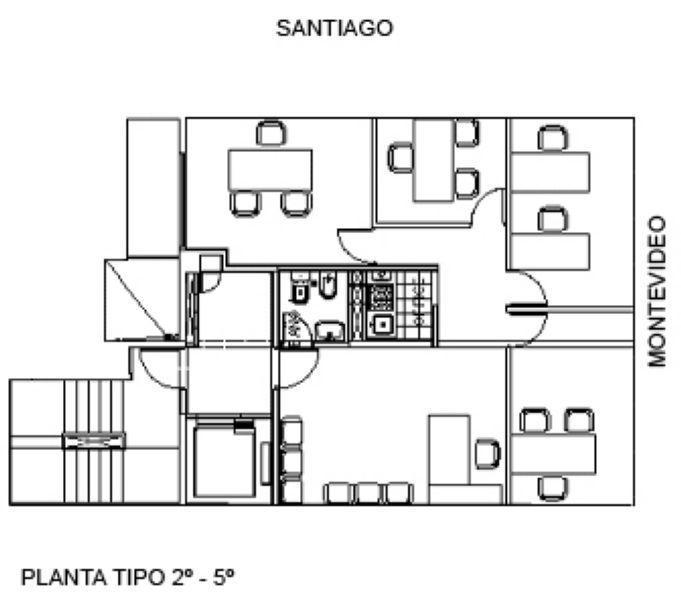 Foto Oficina en Venta en  Rosario ,  Santa Fe  Montevideo 2420 6º