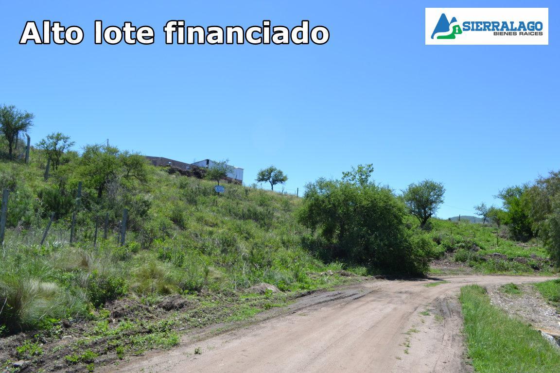 Foto Terreno en Venta |  en  Cosquin,  Punilla  FINANCIADO - Alto lote en Molinari, Cosquín