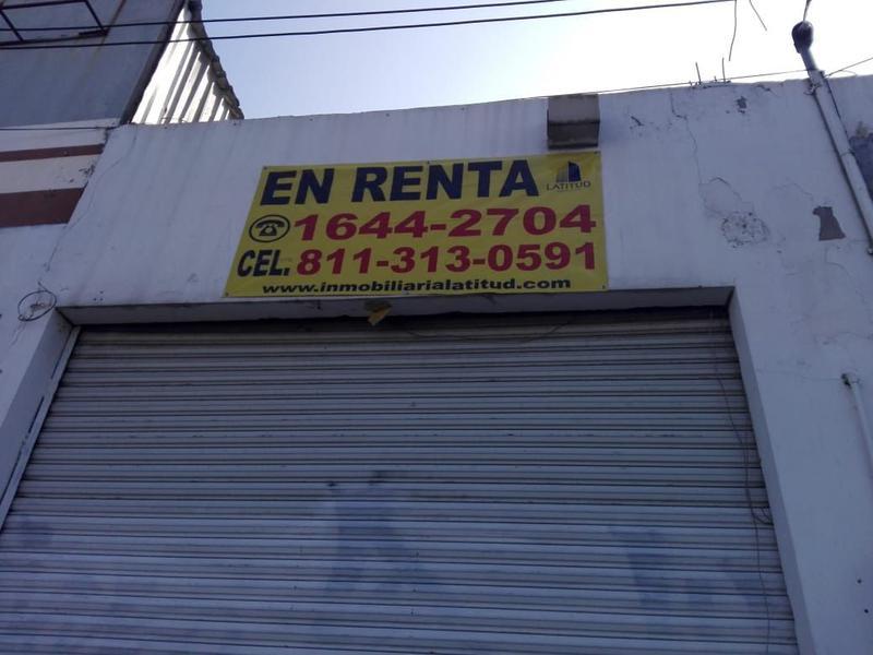 Foto Local en Renta en  Pío X,  Monterrey  BODEGA EN RENTA CON OFICINA SOBRE AVENIDA MORONES PRIETO MONTERREY NL