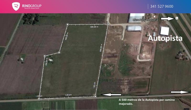 Foto Campo en Venta en  Alvear,  Rosario  ruta 9 km 250