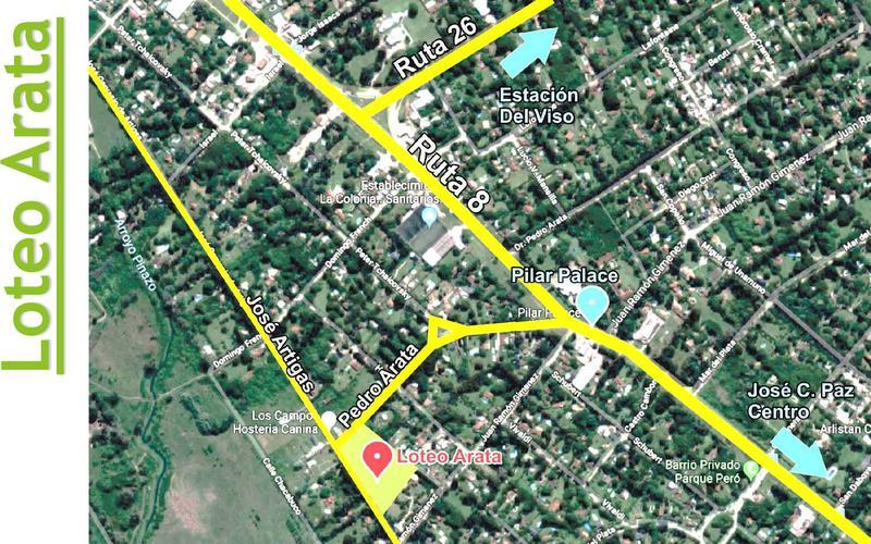 Foto Terreno en Venta en  Jose Clemente Paz ,  G.B.A. Zona Norte  Jose Gerbasio de Artigas al 6300