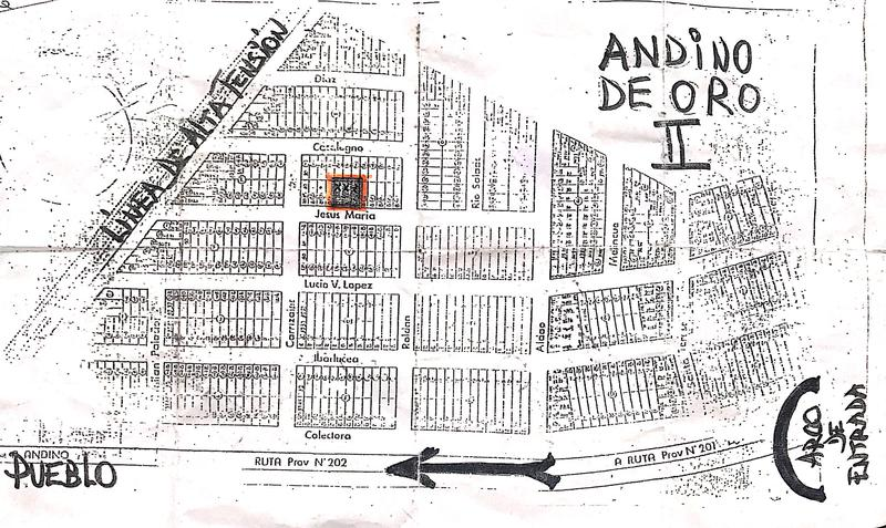 Foto Terreno en Venta en  Andino,  Iriondo  Andino de Oro II